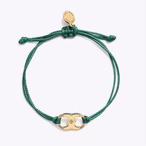 Tory Burch Green Embrace Bracelet